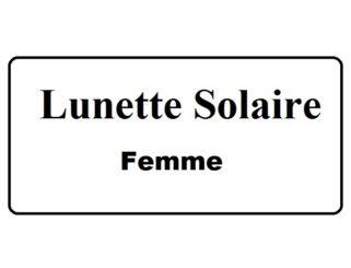 SOLAIRE FEMME